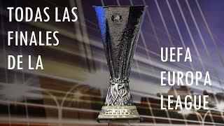 Todas las Finales de la UEFA Europa League