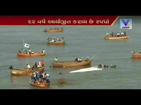 Surat: Traditional sailing competition organised by Nation Fighter Sports Club at Magdalla |Vtv