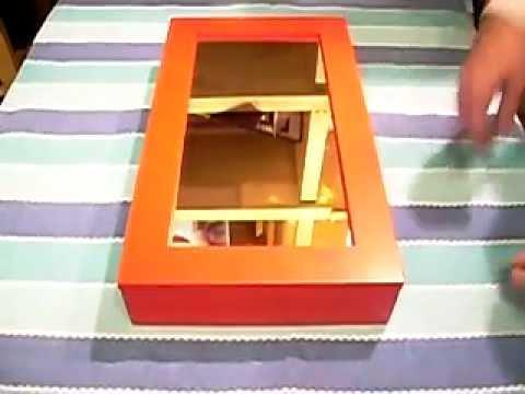 Caja guardallaves en color rojo para guardar y encontrar - Cajas de plastico para almacenar ...