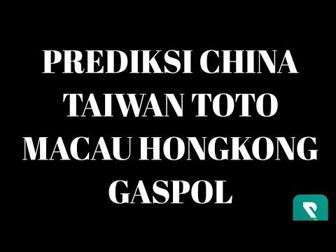 PREDIKSI CHINA TAIWAN TOTO MACAU HONGKONG   SEMUA PASARAN POOLS TODAY HARI INI