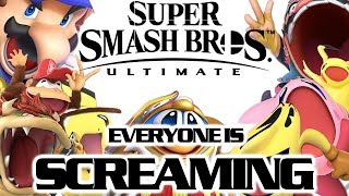 Super Smash Bros. Ultimate Everyone is Screaming