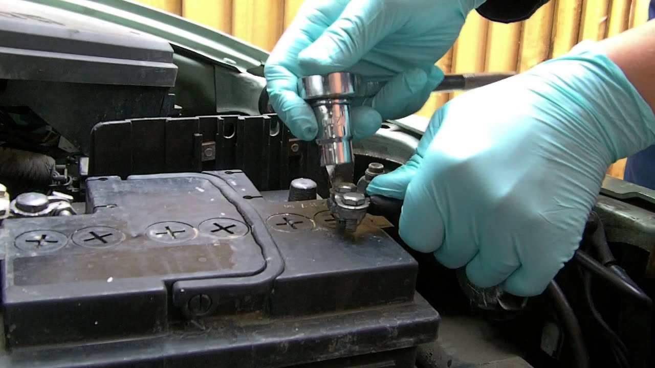 Replacing Battery Terminal Clamp