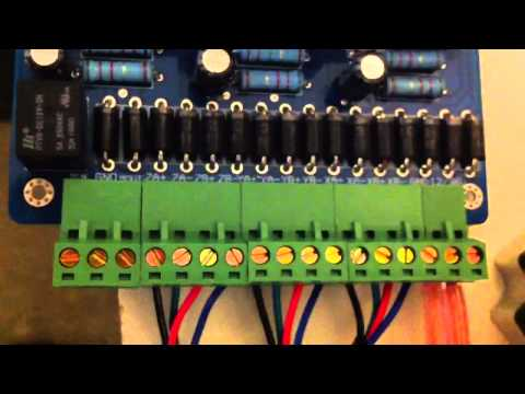 Cnc 3 Axis Stepper Motor Wiring Of A Tb6560 Controller Youtube