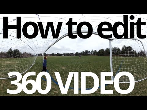 How to edit 360 and VR Video Mp3
