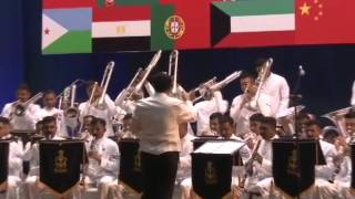President, PM attend Naval Band Show at International Fleet Review