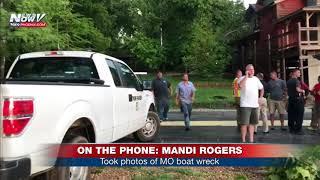 BREAKING NEWS PHONER: Tourist duck boat capsizes on Table Rock Lake in Missouri (FNN)