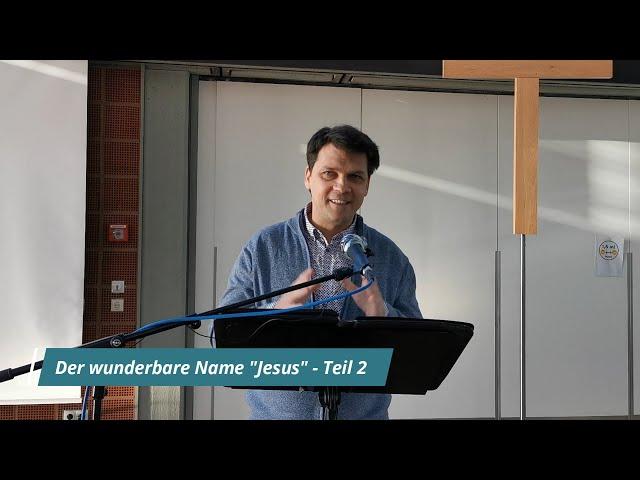 Der wunderbare Name Jesus - Teil 2 | Unser Guthaben auf der Bank Gottes