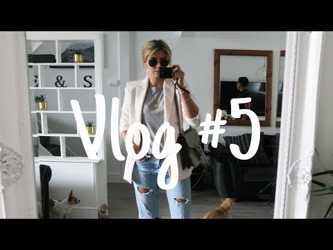 Vlog #5 | Back to the Gym, A H&M Showroom Appointment & Doggy Love