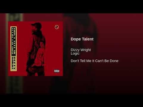 Dizzy Wright Dope Talent (Ft. Logic) Artwork