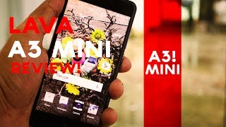 LAVA A3 Mini full review