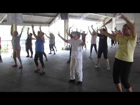 Senior Citizens Zumba Dancers
