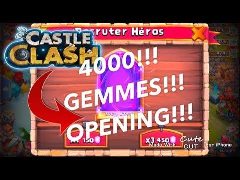 JE LOOT LE MEILLEUR HERO DU JEU ! CASTLE CLASH FR#1