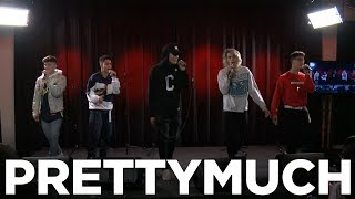 Video An Exclusive A Capella Performance of 'Teacher' and 'Would You Mind' by PRETTYMUCH download MP3, 3GP, MP4, WEBM, AVI, FLV Januari 2018