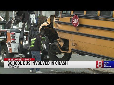 School bus involved in crash in Ansonia