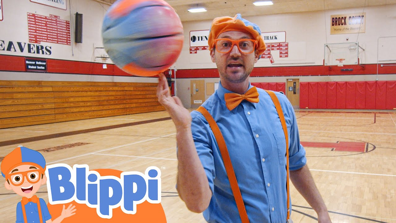 Learning Sports For Kids With Blippi   Educational Videos For Kids