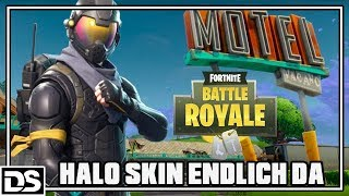 Fortnite Battle Royale English - Halo Skin/Apostate Agent iz da #lutschets (Fortnite Gameplay)