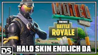 Fortnite Battle Royale Anglais - Halo Skin/Apostate Agent iz da #lutschets (Fortnite Gameplay)