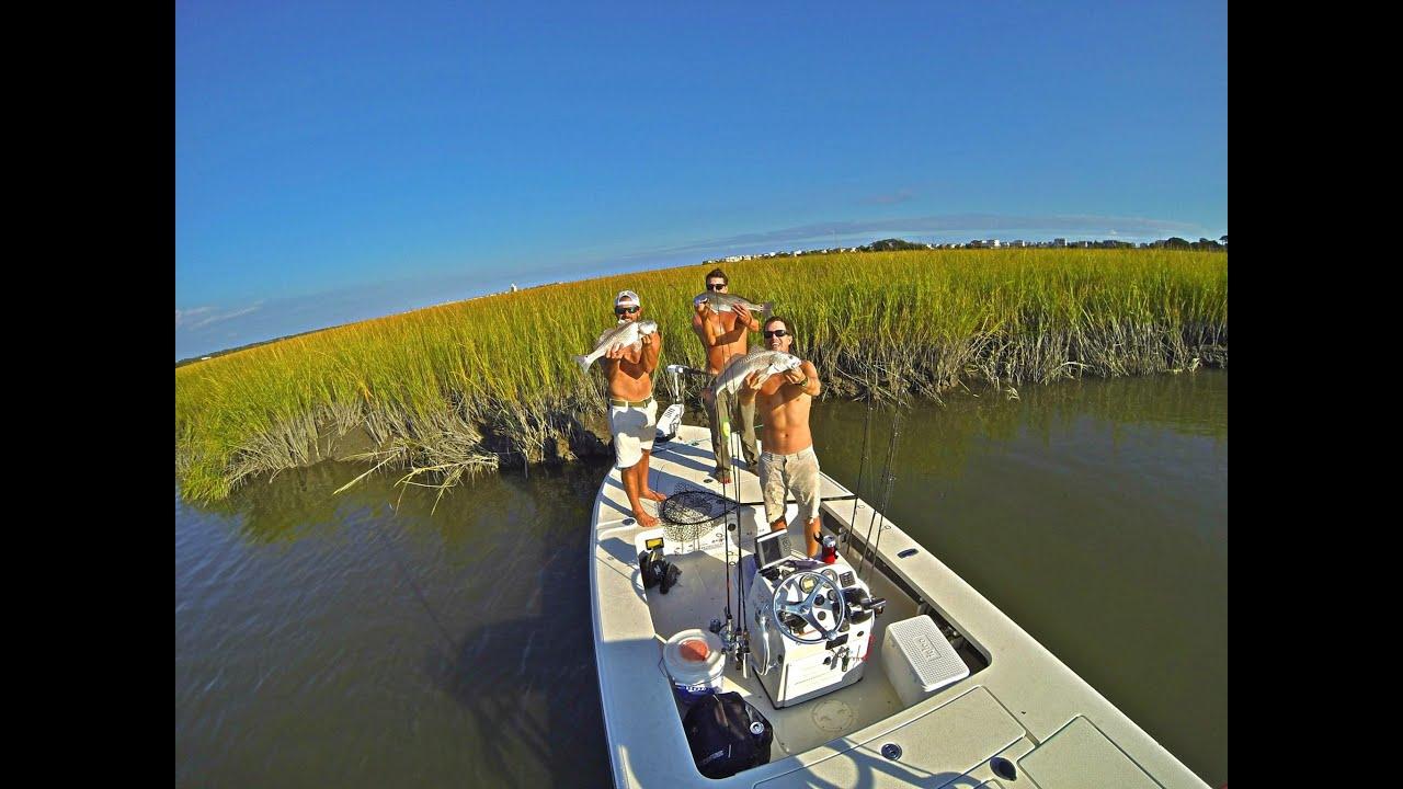 Carolina fishing fishing for redfish in north carolina for Fishing in south carolina