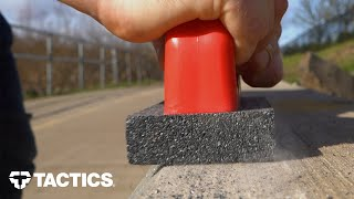 How to Make Concrete Ledges Grind and Slide  Rub Brick Tutorial  Tactics