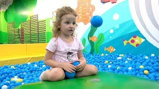 Funny kids and Indoor playground Fun Playtime