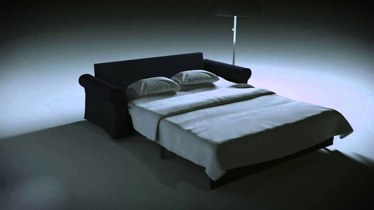 ikea backabro bettsofa mit aufbewahrung youtube. Black Bedroom Furniture Sets. Home Design Ideas