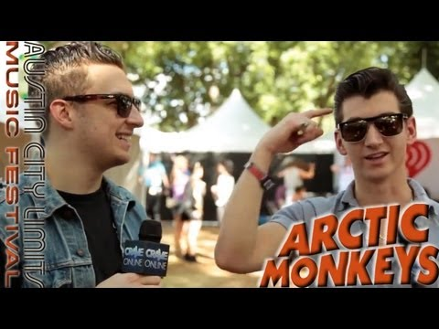 ARCTIC MONKEYS- Austin City Limits Music Festival 2013 Interview