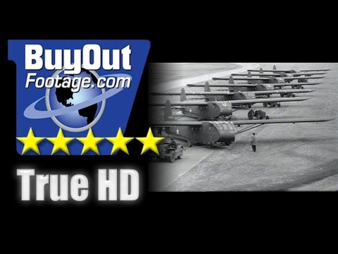 HD Historic Archival Stock Footage WWII - New Gliders for Troop Transport 1943