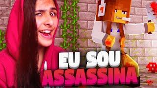 Minecraft: MURDER - SOU A MAIOR ASSASSINA!