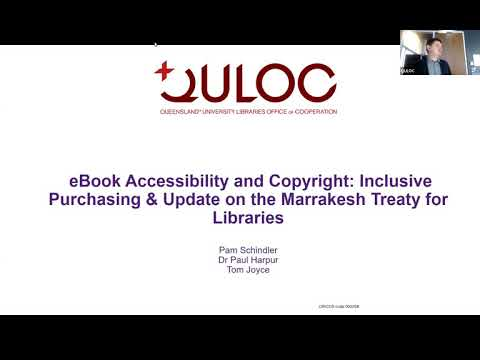 EBook Accessibility And Copyright  Inclusive Purchasing   Update On The Marrakesh Treaty