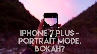 iPhone 7 Plus Portrait Mode - Beta