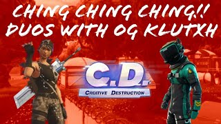 My Sword Goes Ching Ching Ching!! Duos with OG°Klutxh (Creative Destruction)