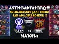 ASYN Bantai RRQ     ASYN Malaysia  vs RRQ Indonesia  MSL  Mobile Legends Season 1   Match 1