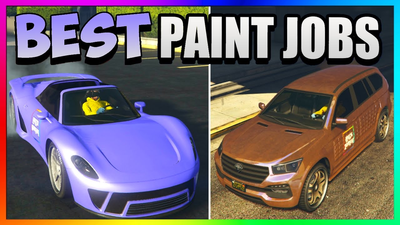 Gta 5 Online Best Rare Modded Secret Paint Jobs Lilac Sky