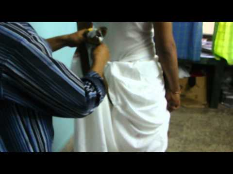 How To Wear A Dhoti Kshatriya Style