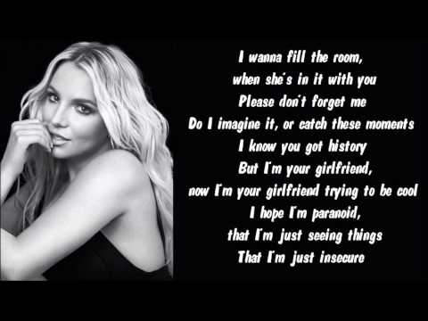 Britney Spears - Perfume Karaoke / Instrumental with lyrics
