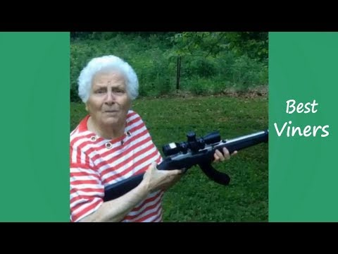 Try Not To Laugh or Grin While Watching Ross Smith Grandma Instagram Videos - Best Viners 2017