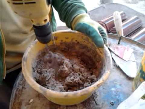 Special Glue And Cement Mixture Youtube