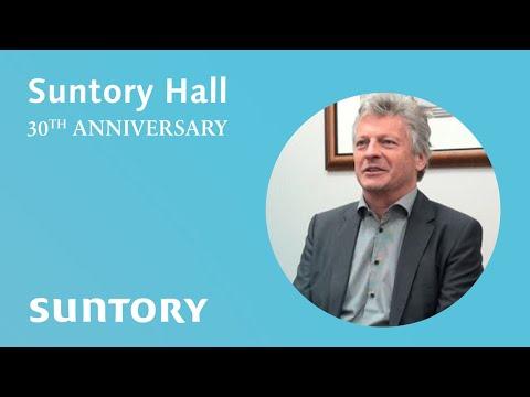 Ernst Ottensamer - Suntory Hall 30th Anniversary Video Messages from International Artists