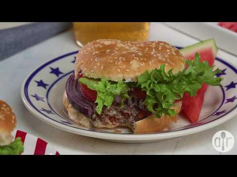 How to Make Star Spangled Burgers | 4th of July Recipes | Allrecipes.com