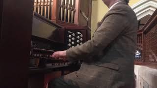 Auld Lang Syne played on the 1896 Benson organ of St. Joseph's, Glasthule, by Rónán Murray YouTube Thumbnail
