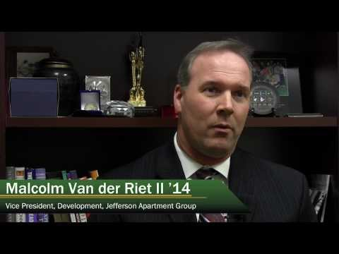 Student Perspective: Malcolm Van der Riet II | George Mason Masters in Real Estate Development