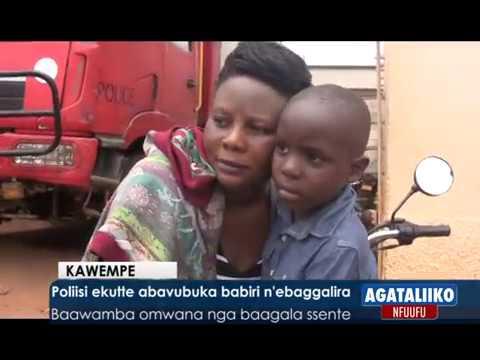 Poliisi ekutte abavubuka babiri n'ebaggalira