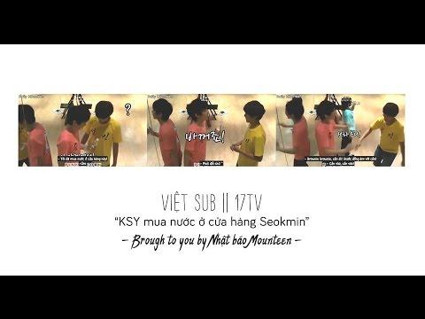 [Vietsub || 17TV || SY - SM] KSY mua nước ở cửa hàng của SM