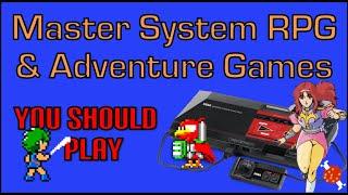 Sega Master System RṖGs and Adventure Games You Should Play | hungrygoriya