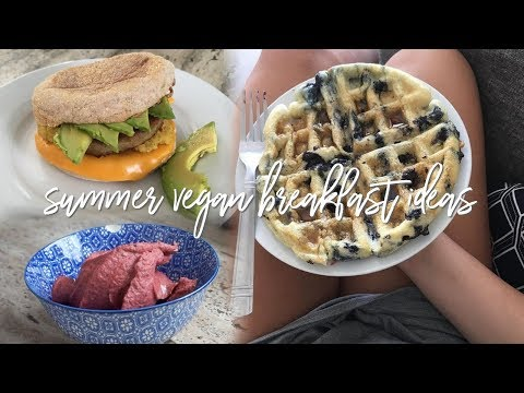 3 EASY VEGAN BREAKFAST RECIPES – Back to School & End of Summer Healthy Meals Ideas