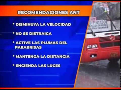 INAMHI advierte tormentas eléctricas en la Sierra y Amazonía