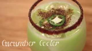 Cucumber Cooler // Refreshing Cocktail!
