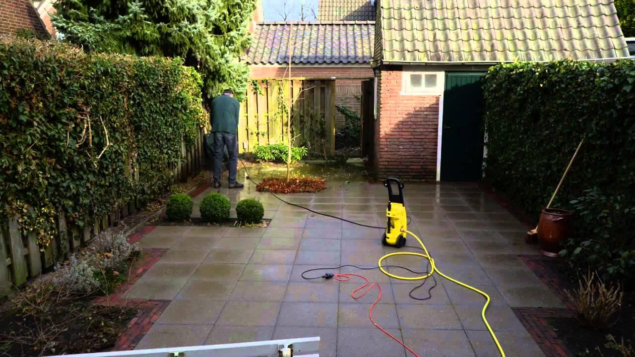 time lapse tuin schoonmaken youtube On tegels tuin schoonmaken