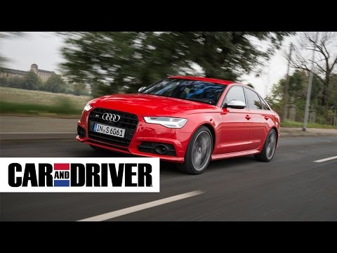 Audi S6 Review in 60 Seconds | Car and Driver