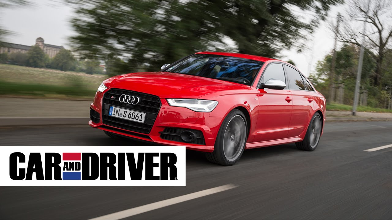 Audi S Review In Seconds Car And Driver YouTube - Audi car and driver